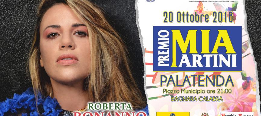 ROBERTA BONANNO al premio Mia Martini 2018