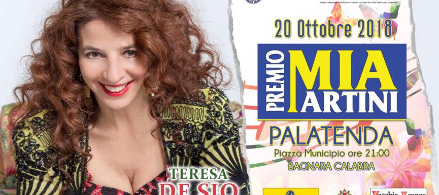 Teresa De Sio sul palco del premio Mia Martini 2018