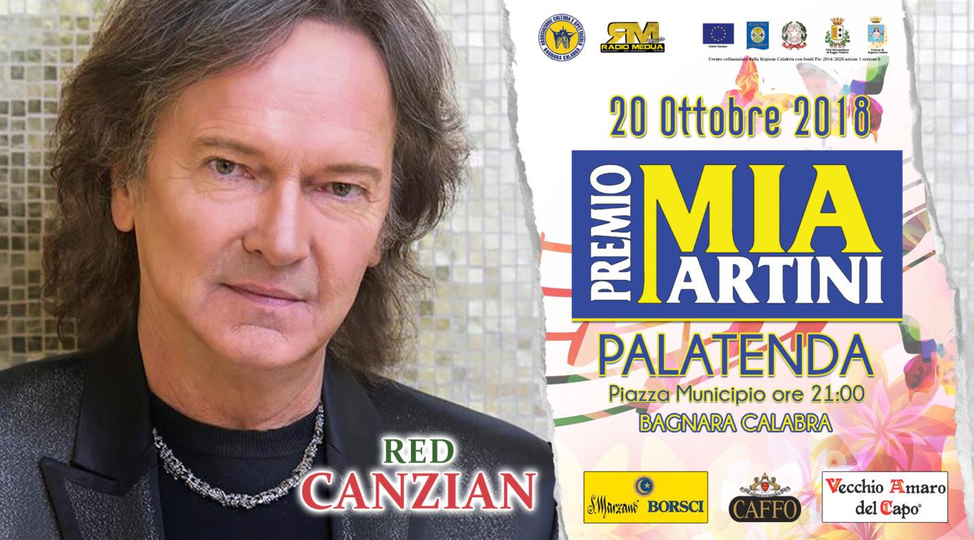 Red Canzian al  premio Mia Martini 2018