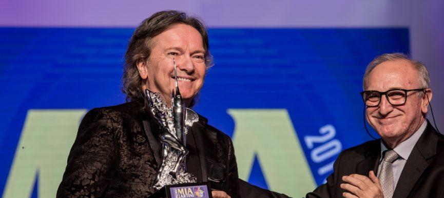 A BAGNARA  RED CANZIAN riceve il Premio Mia Martini alla Carriera 2018