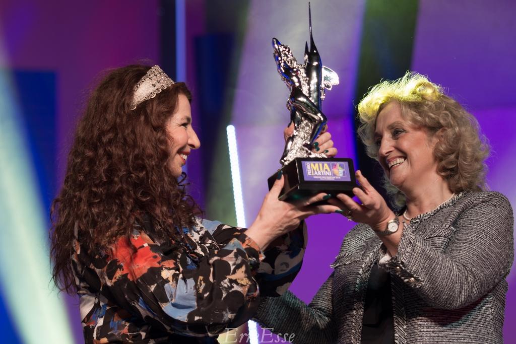 Premio Mia Martini alla Carriera 2018 a Teresa De Sio