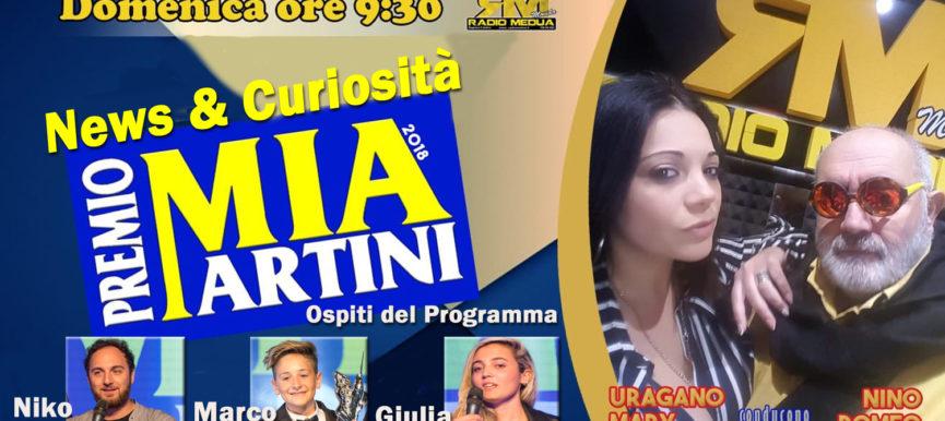 NEWS & CURIOSITA' Premio Mia Martini 2018