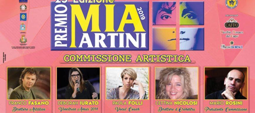 Commissione di prestigio per la XXV edizione del premio Mia Martini