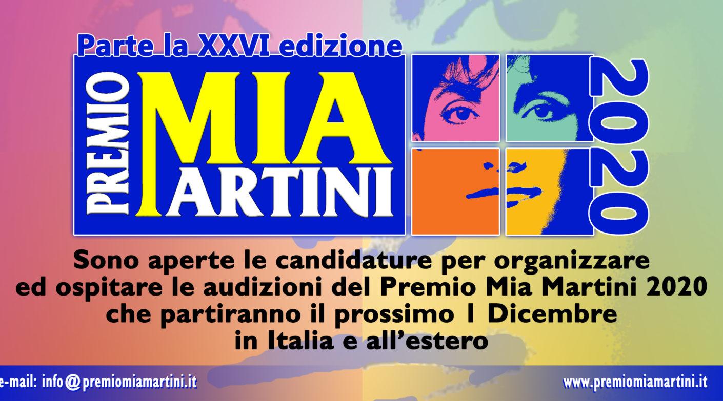 APERTE le candidature per ospitare le audizioni del premio Mia Martini 2020