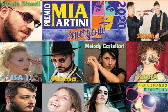 I 10 finalisti della sezione EMERGENTI del Premio Mia Martini 2020