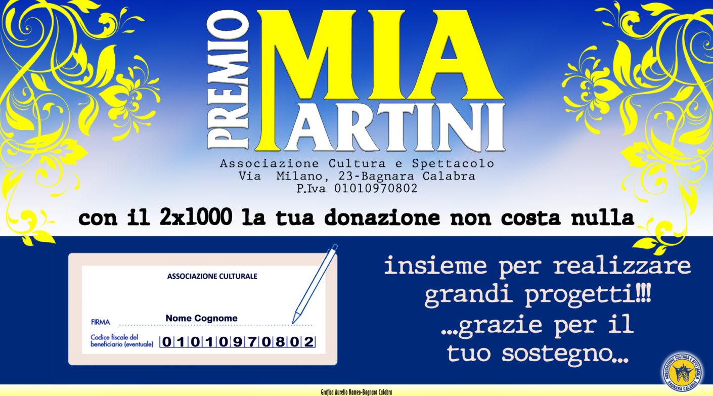 2x1000 per il Premio Mia Martini